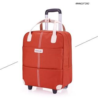 vali du lịch-vali túi kéo-vali túi-vali nhỏ gọn-vali có chân di chuyển-Vali du lịch tay kéo-Vali du lịch tay kéo XXCLW size lớn 20inch +túi kèm-vaili tặng kèm túi-vali du lịch tay kéo-túi vali-vali du lịch năng động-vali vải- vali cao cấp - RE0358 vali du lịch thumbnail