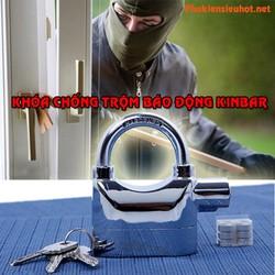 Ổ khóa báo động chống trộm Kinbar Alarm Lock  có còi hú 110DBA