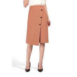 De Leah - Chân Váy Midi Đắp Vạt Lệch - Thời trang thiết kế - Z1825121Be thumbnail