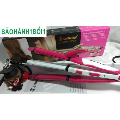 Máy làm tóc Shinon sẽ giúp cho các quý cô, quý bà thỏa sức sáng tạo các mẫu tóc thời thượng nhất