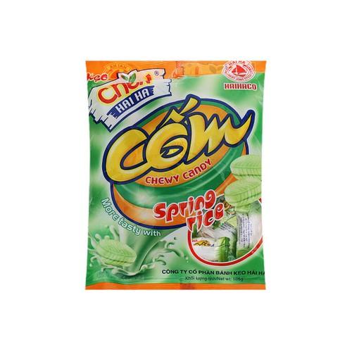 Năm gói kẹo Chew cốm Hải Hà 105g