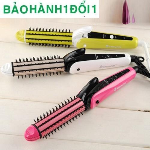 Máy tạo kiểu Shinon thích hợp cho mọi loại tóc, không gây tổn hại nhiều đến tóc