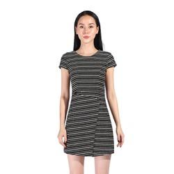 De Leah - Đầm Ôm A Tweed Đắp Vạt - Thời trang thiết kế