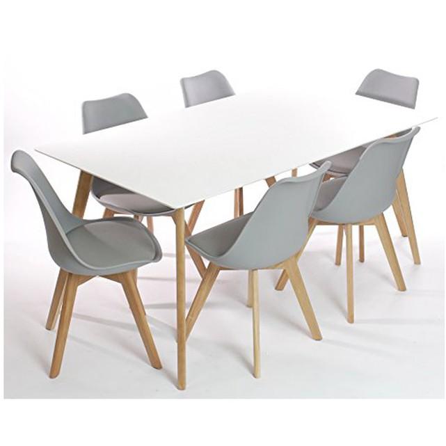 Bộ bàn ăn nhập khẩu nguyên chiếc, bàn ghế phòng ăn 2