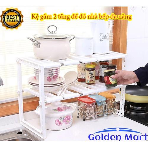 Kệ gầm 2 tầng để đồ nhà bếp đa năng - 4497778 , 13858154 , 15_13858154 , 139000 , Ke-gam-2-tang-de-do-nha-bep-da-nang-15_13858154 , sendo.vn , Kệ gầm 2 tầng để đồ nhà bếp đa năng