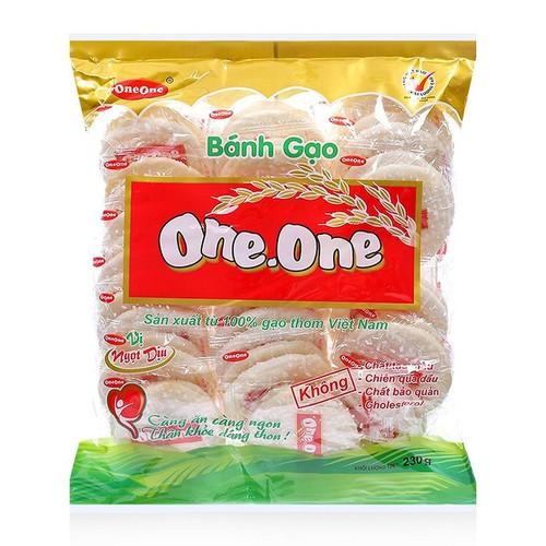 Bánh gạo vị ngọt dịu One One gói 230g - 4497713 , 13858055 , 15_13858055 , 38000 , Banh-gao-vi-ngot-diu-One-One-goi-230g-15_13858055 , sendo.vn , Bánh gạo vị ngọt dịu One One gói 230g