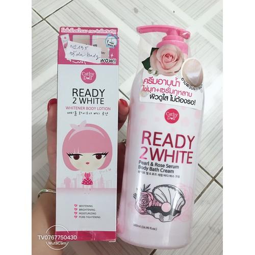 Bộ tắm và dưỡng trắng da Ready 2 White 500ml Thái lan