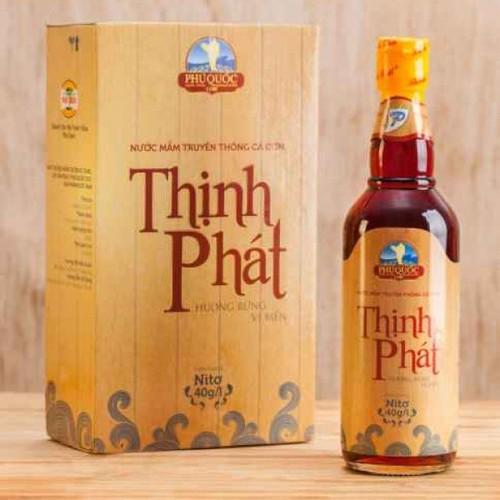 Đặc sản Phú Quốc - Nước mắm Thịnh Phát chai nửa lít