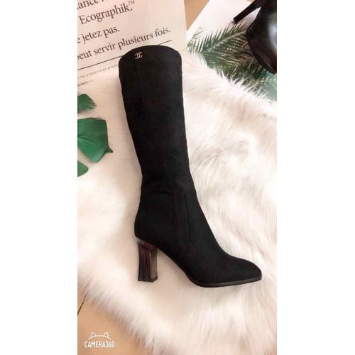Giày Boot Nữ Cổ Cao Đẹp - 7125316 , 13849435 , 15_13849435 , 750000 , Giay-Boot-Nu-Co-Cao-Dep-15_13849435 , sendo.vn , Giày Boot Nữ Cổ Cao Đẹp