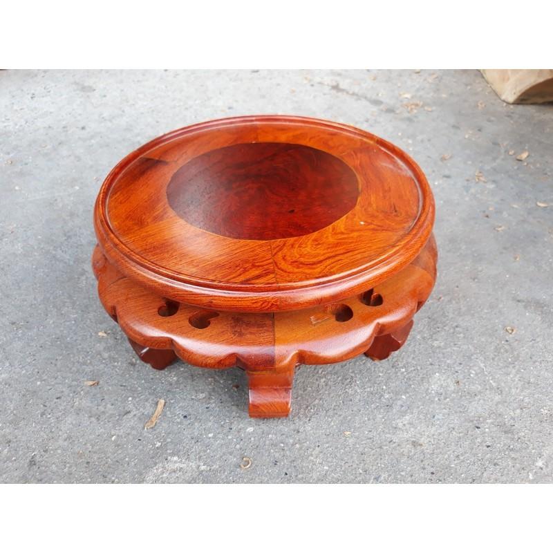 Kỷ váy gỗ hương đường kính 18 cm 3