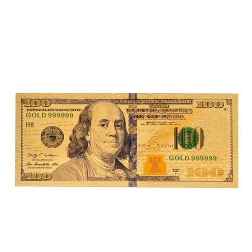 TIỀN ĐÔ 100 USD PLASTIC LÀM LÌ XÌ QUÀ TẶNG THU HÚT TÀI LỘC