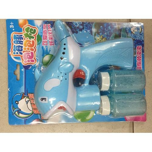 máy bắn bong bóng - cá