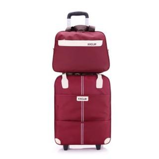 Vali du lịch tay kéo - vaili tặng kèm túi -vali du lịch tay kéo - vali cao cấp - vali du lịch RRE0358 thumbnail