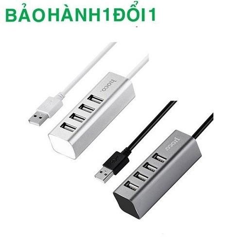 Hub Usb Hoco 4 cổng rất tiện lợi khi bạn cần cắm nhiều thiết bị cùng lúc
