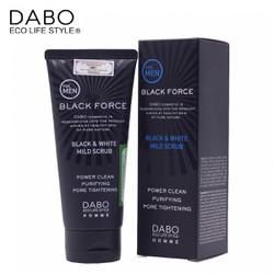 SỮA RỬA MẶT DÀNH CHO NAM BLACK FORCE DABO 120ML
