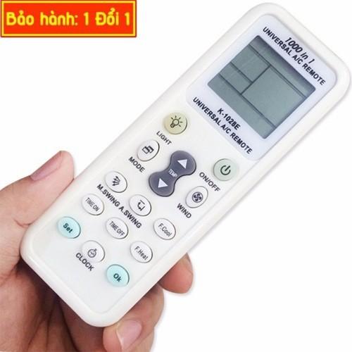 Remote điều khiển tất cả dòng máy lạnh hiện nay khi mất remote cũ