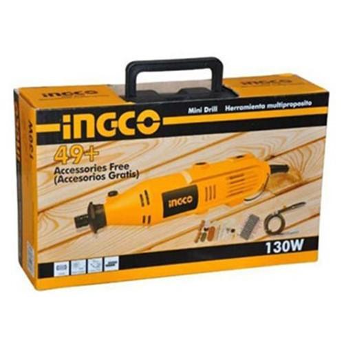 3.2mm Bộ máy khoan, mài mini 130W INGCO MG1308 2