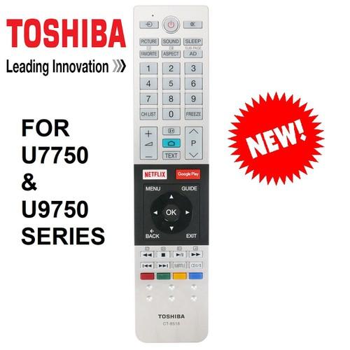 REMOTE ĐIỀU KHIỂN TIVI TOSHIBA SMART CT-8516 DÒNG U7750 VÀ U9750