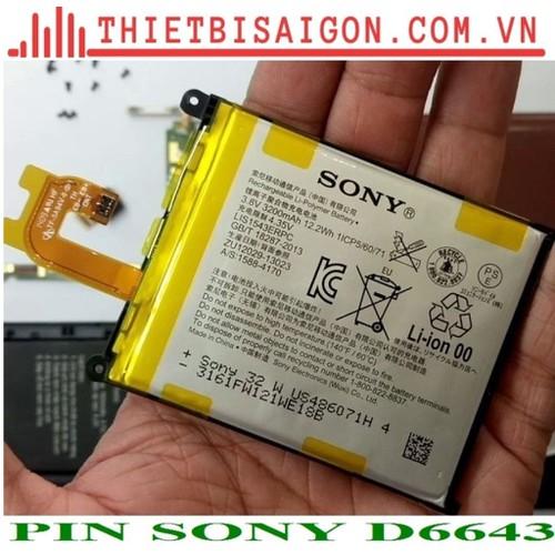 PIN SONY D6643
