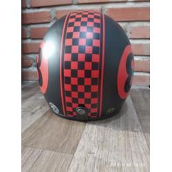 Mũ bảo hiểm 3-4 bida số 8 đỏ chính hãng X-pro