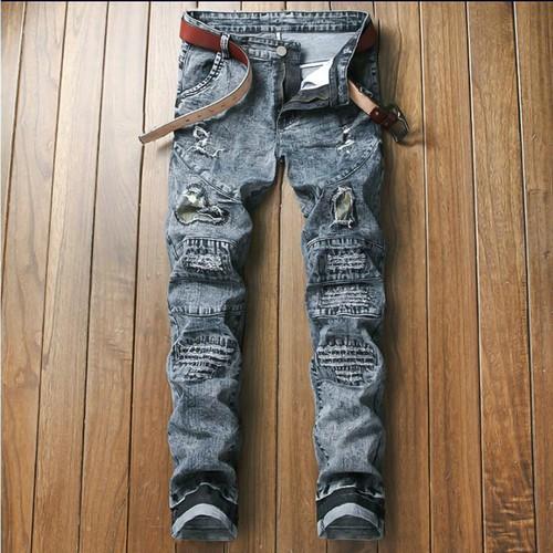 quần jeans ống côn rách chắp vá Mã: ND1351 - 11225623 , 16046571 , 15_16046571 , 470000 , quan-jeans-ong-con-rach-chap-va-Ma-ND1351-15_16046571 , sendo.vn , quần jeans ống côn rách chắp vá Mã: ND1351