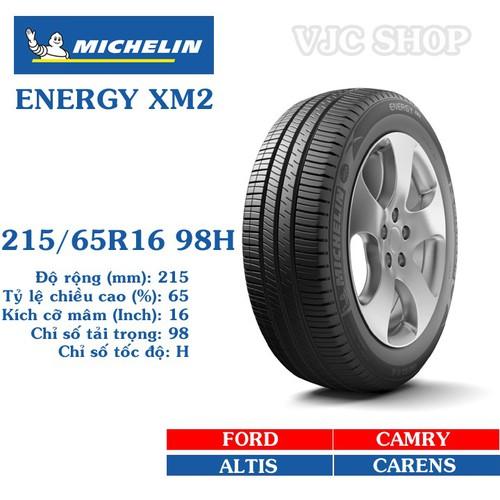 Lốp ô tô Michelin Energy XM2 cỡ 215.65R16 98H