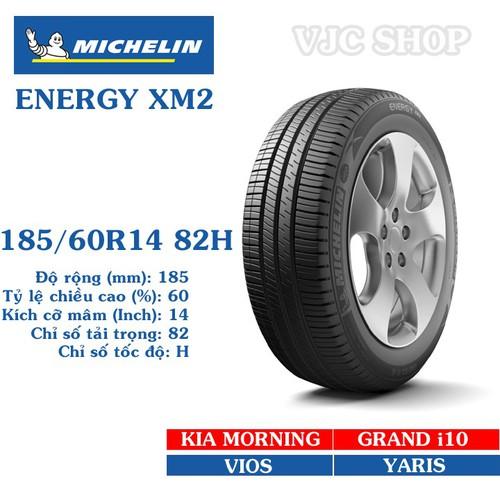 Lốp ô tô Michelin Energy XM2 cỡ 185.60R14 82H