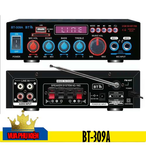Ampli Mini Karaoke Bluetooth Cao Cấp BT-309A - 11225117 , 16045372 , 15_16045372 , 1185000 , Ampli-Mini-Karaoke-Bluetooth-Cao-Cap-BT-309A-15_16045372 , sendo.vn , Ampli Mini Karaoke Bluetooth Cao Cấp BT-309A