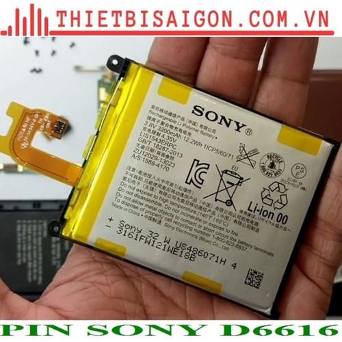 PIN SONY D6616