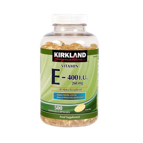Viên uống Vitamin E 400 I.U Kirkland Signature 500 Viên - 11225071 , 16044965 , 15_16044965 , 550000 , Vien-uong-Vitamin-E-400-I.U-Kirkland-Signature-500-Vien-15_16044965 , sendo.vn , Viên uống Vitamin E 400 I.U Kirkland Signature 500 Viên