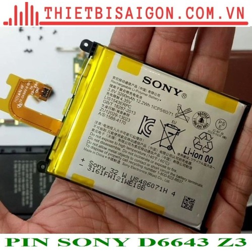 PIN SONY D6643 Z3
