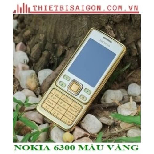 NOKIA 6300 CHÍNH HÃNG MÀU VÀNG