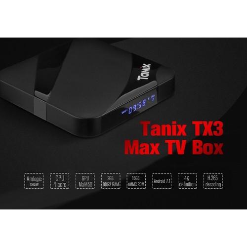 Tanix TX3 Max-S905W,Ram 2GB, ROM 16GB, Có Bluetooth, Tặng Chuột không dây - 7531315 , 16042748 , 15_16042748 , 990000 , Tanix-TX3-Max-S905WRam-2GB-ROM-16GB-Co-Bluetooth-Tang-Chuot-khong-day-15_16042748 , sendo.vn , Tanix TX3 Max-S905W,Ram 2GB, ROM 16GB, Có Bluetooth, Tặng Chuột không dây