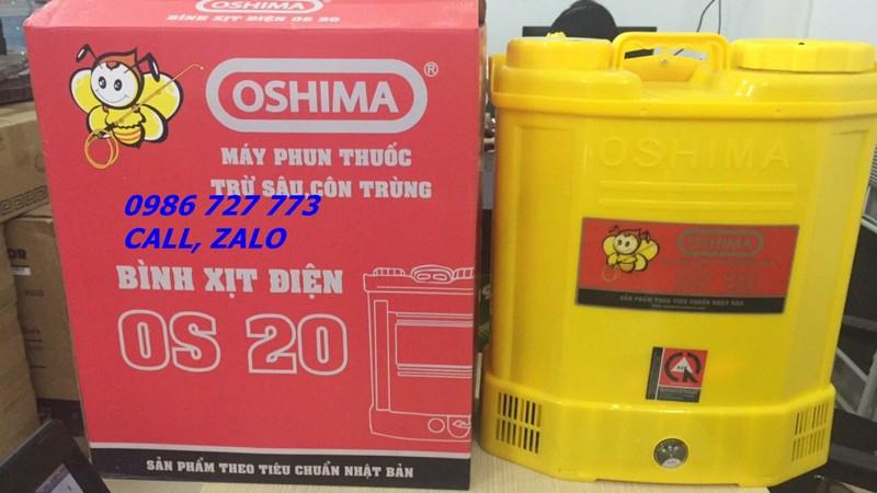 Bình xịt điện OSHIMA OS20,  máy phun thuốc 20 lít 1