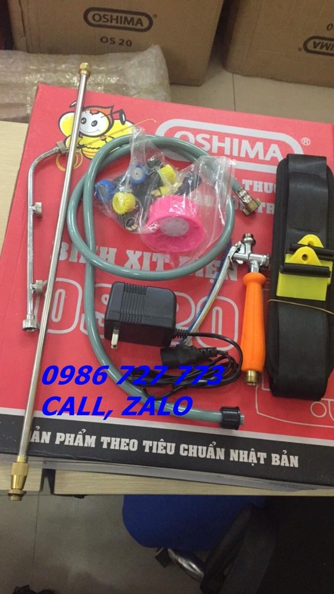 Bình xịt điện OSHIMA OS20,  máy phun thuốc 20 lít 4