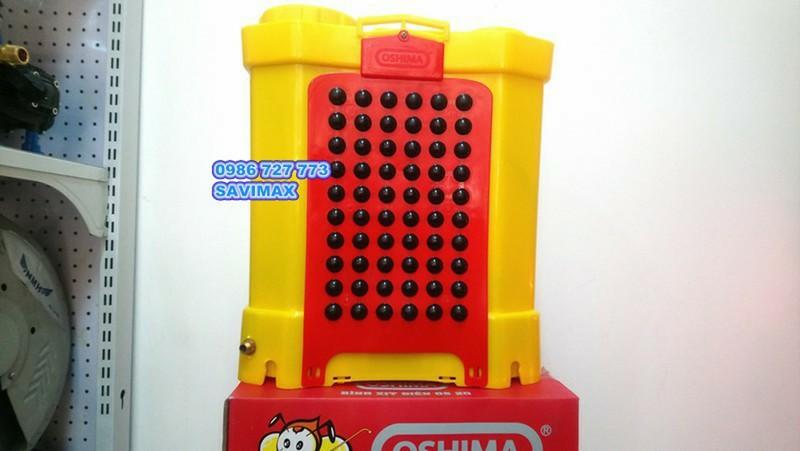 Bình xịt điện OSHIMA OS20,  máy phun thuốc 20 lít 3