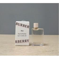 Nước hoa mini Nữ BURBERRY Her EDP 5ml