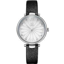 Đồng hồ nữ Chính Hãng Shengke Korea K8047L-01 Đen