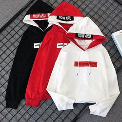 Áo hoodie nam cá tính