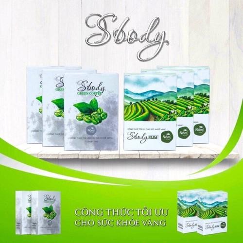 cafe giảm cân sbody green giảm 3-5 kí
