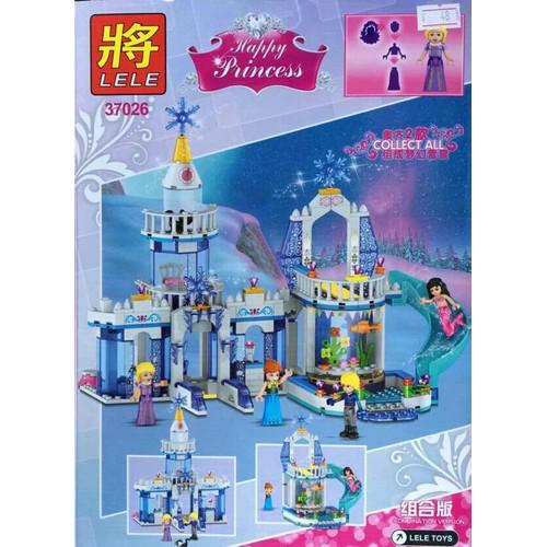 Bộ xếp hình cung điện công chúa