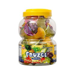 Rau Câu Trái Cây Tự Nhiên Fruzel Assorted Mỹ [ Hộp 1.45kg]