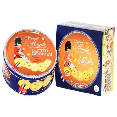 Bánh quy bơ Danish Monde Butter Cookies loại 454 gram
