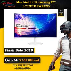 Màn Hình Cong Samsung LC 32F391 32inch FullHD 4ms 60Hz VA - Hàng Chính Hãng - LC32F391FWEXXV