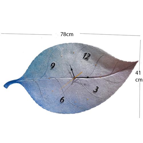 Đồng hồ treo tường hình lá