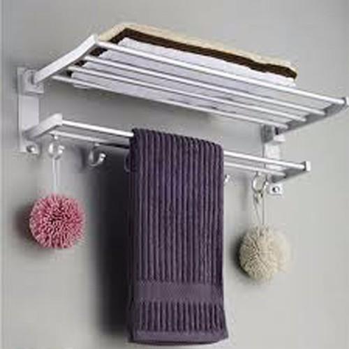 Kệ treo khăn inox nhà tắm