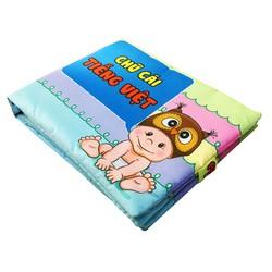Sách vải pipo |sách vải chữ cái tiếng việt - MSP: ST-TV0010