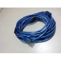 Dây cáp nối dài USB 10 mét xanh chống nhiễu