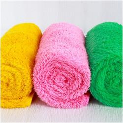 [Xả hàng Tết] Bộ 9 khăn lông cừu siêu mềm cho bé KT 30x50cm