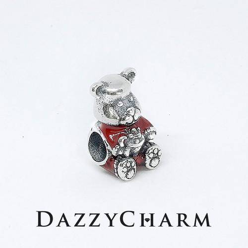 DazzyCharm mùa noel gấu ôm quà